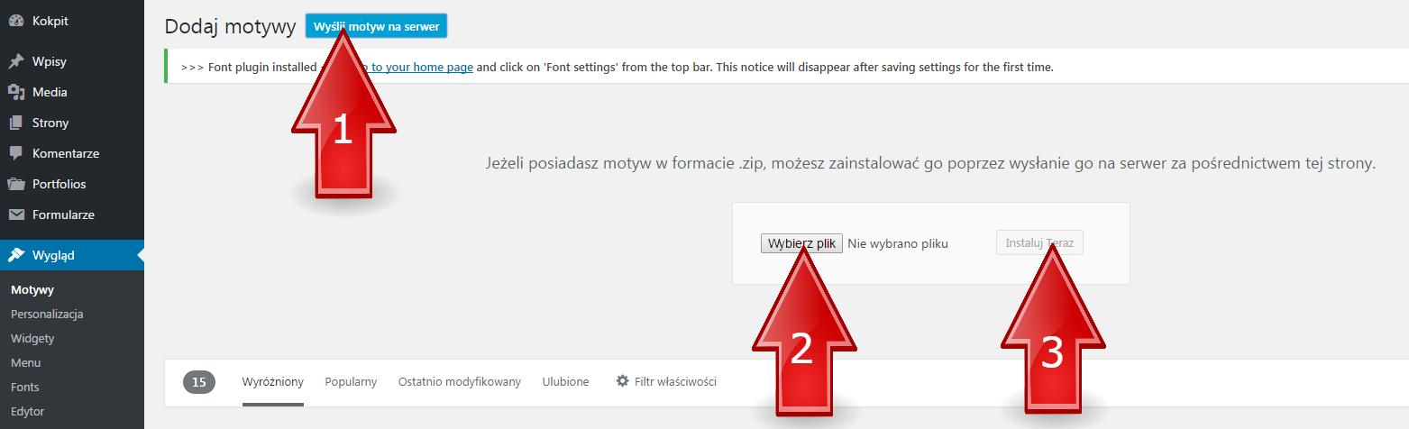 instalacja-szablonu-wordpress3