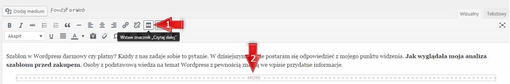 znacznik-czytaj-dalej-wordpress